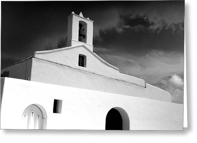 Ibiza Greeting Cards - Low Angle View Of The Sant Llorenc Greeting Card by Panoramic Images