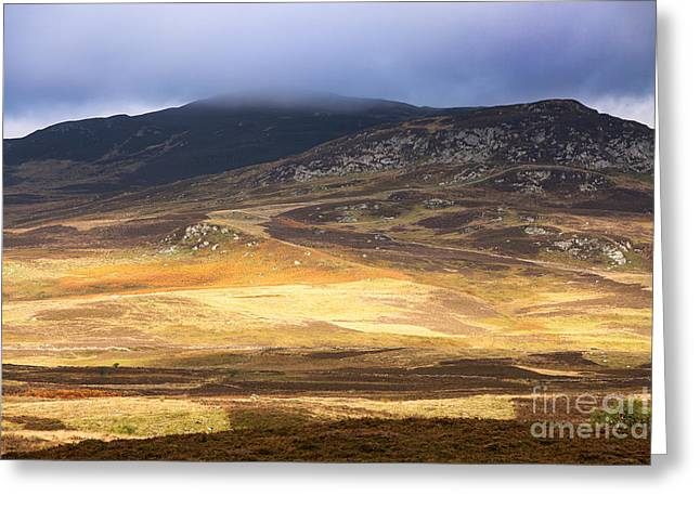 Moorlands Greeting Cards - Low cloud over Highlands Greeting Card by Jane Rix