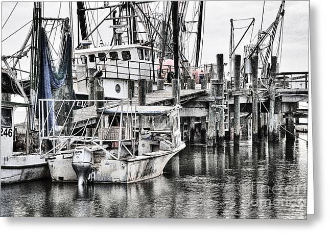 Low Country Small Craft Greeting Card by Scott Hansen