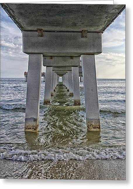 Carlos Lee Greeting Cards - Low Tide Greeting Card by Anne Rodkin