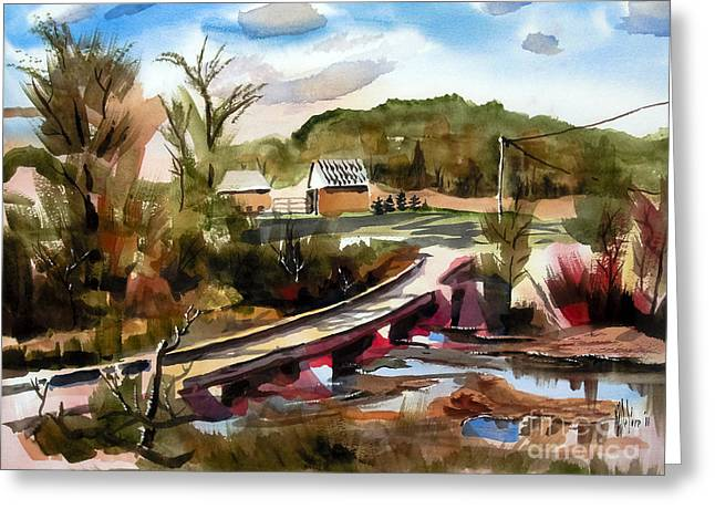 Customizable Greeting Cards - Low Water Bridge II Greeting Card by Kip DeVore