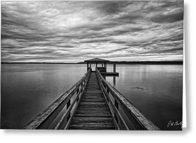 Beaufort County Greeting Cards - Lowcountry Long Dock Greeting Card by Phill  Doherty