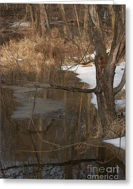 Bottomlands Greeting Cards - Lowell Bridge Greeting Card by Joseph Yarbrough