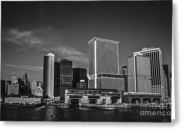 Chelsea Greeting Cards - Lower Manhattan Greeting Card by Art K