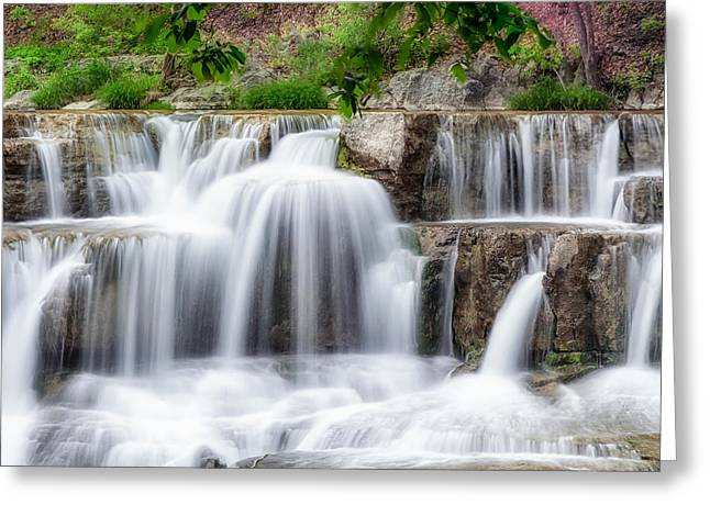 Taughannock Falls State Park Greeting Cards - Lower Taughannock Falls Greeting Card by Bill  Wakeley
