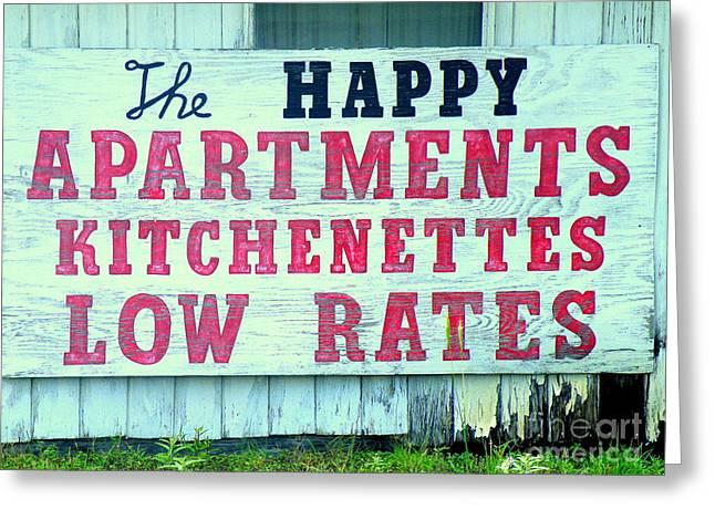 Humorous Real Estate Print Greeting Cards - Lowest In Town Greeting Card by Joe Jake Pratt