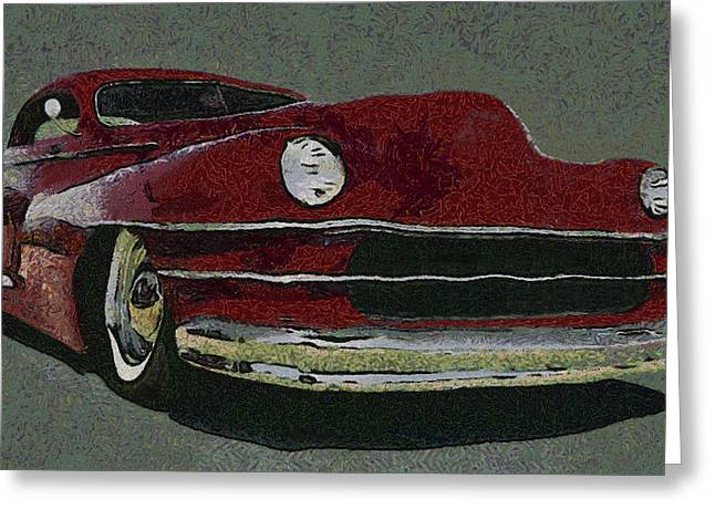 Lowrider Greeting Cards - Lowrider Custom Greeting Card by Ernie Echols