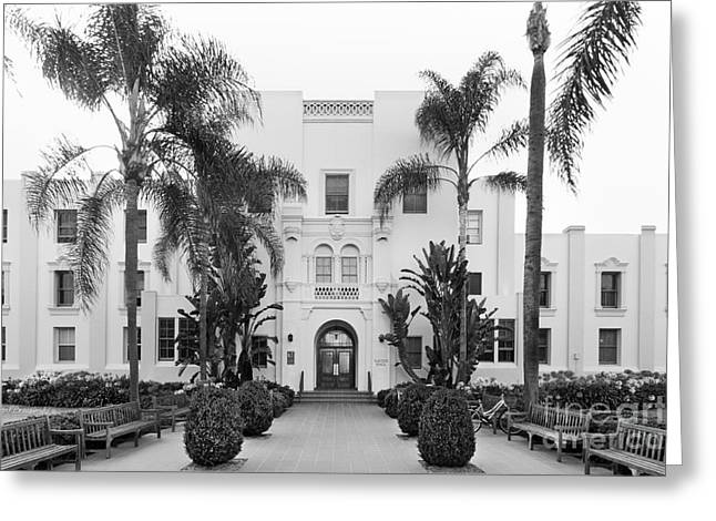 Hall Greeting Cards - Loyola Marymount University Xavier Hall Greeting Card by University Icons