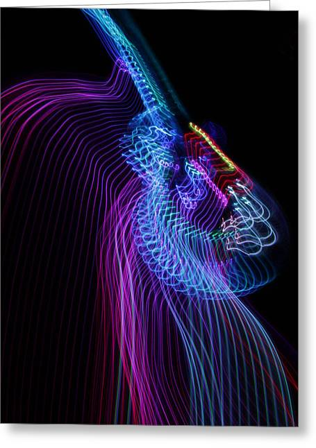 Musical Imagery Greeting Cards - Lp 8 Greeting Card by Patrick Daniel Trombly