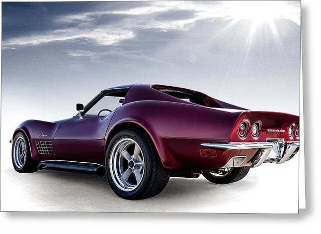 Classic Auto Greeting Cards - LT1 Stingray Greeting Card by Douglas Pittman