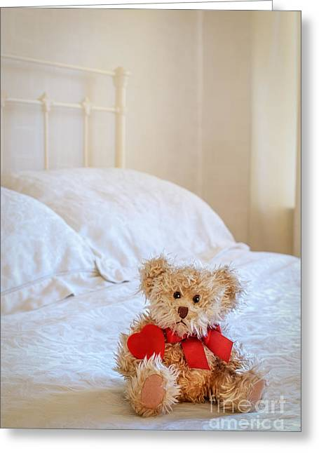 Valentines Day Greeting Cards - Lttle Bear Greeting Card by Amanda And Christopher Elwell