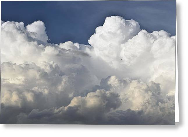 Dramatic Digital Greeting Cards - Lubbock Cloud Formation Greeting Card by James W Johnson