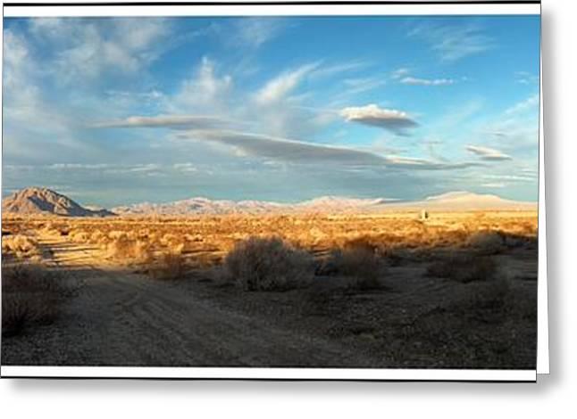 Lucerne Desert Vista Greeting Card by Glenn McCarthy Art and Photography