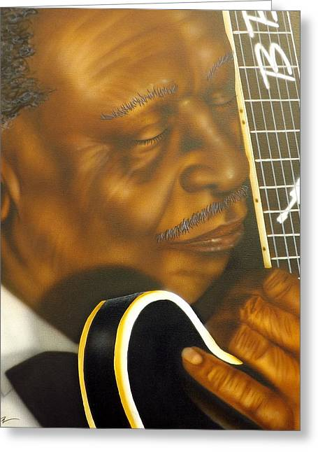 Rock Icon Greeting Cards - Lucille Greeting Card by Darren Robinson
