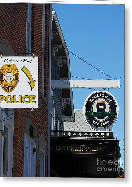 Law Enforcement Greeting Cards - Luck Of The Irish Greeting Card by Mel Steinhauer