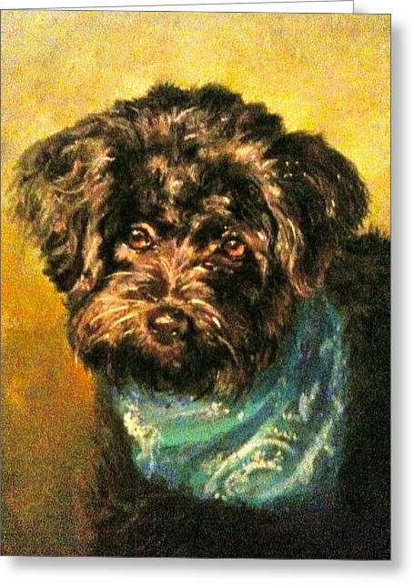 Rescue Pastels Greeting Cards - Lucky Greeting Card by Janice Harris