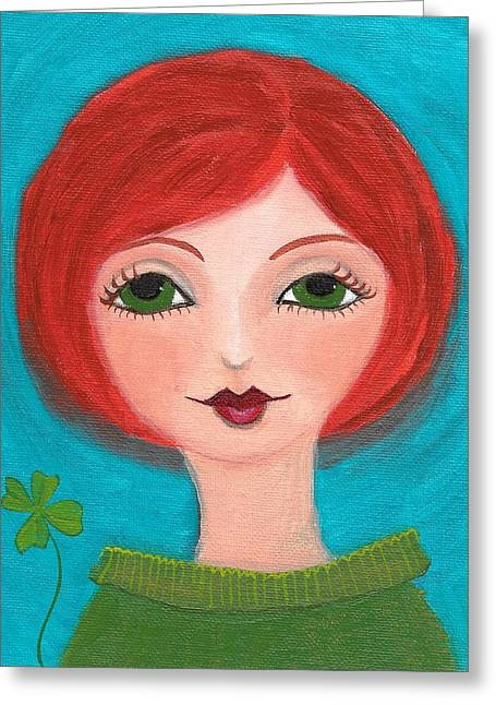 Lisa Noneman Greeting Cards - Lucky Greeting Card by Lisa Noneman