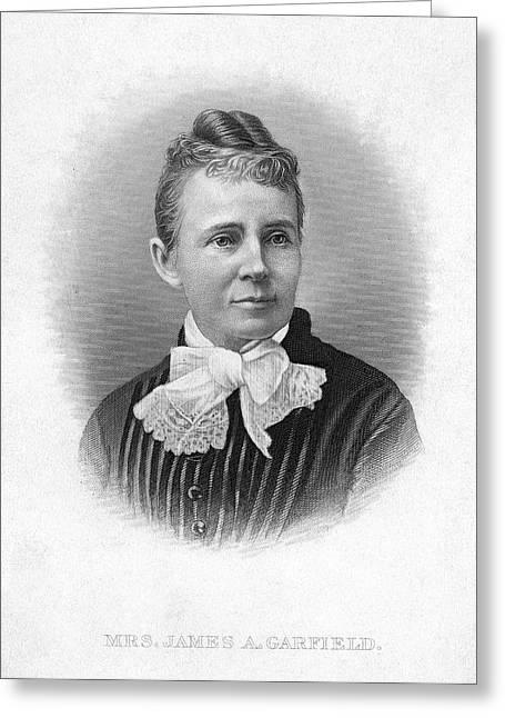 Lucretia Garfield (1832-1918) Greeting Card by Granger