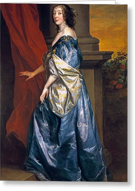 Juliet Greeting Cards - Lucy Percy, Countess Of Carlisle 1599-1660 C.1637 Oil On Canvas Greeting Card by Sir Anthony van Dyck