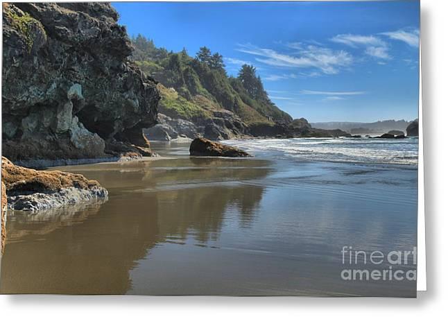 Northern California Beach Greeting Cards - Luffenholtz Beach Greeting Card by Adam Jewell