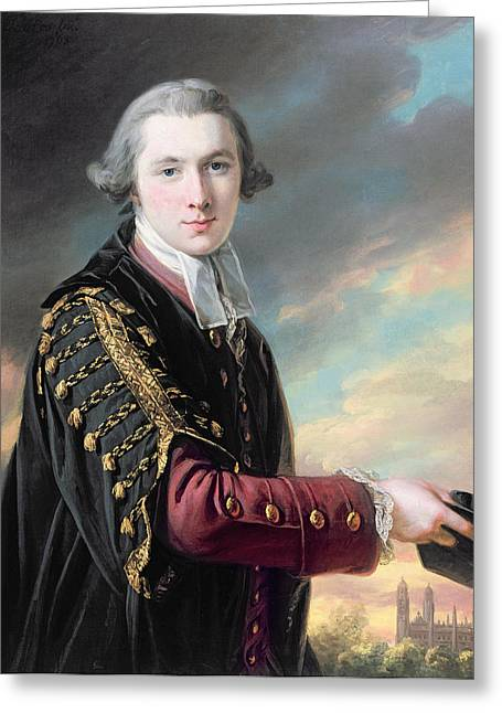 Development Greeting Cards - Luke Gardiner 1745-98 Oil On Canvas Greeting Card by Francis Cotes