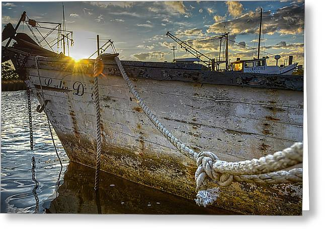 Recently Sold -  - Ocean Art Photography Greeting Cards - Lulie D Greeting Card by Mark Hazelton