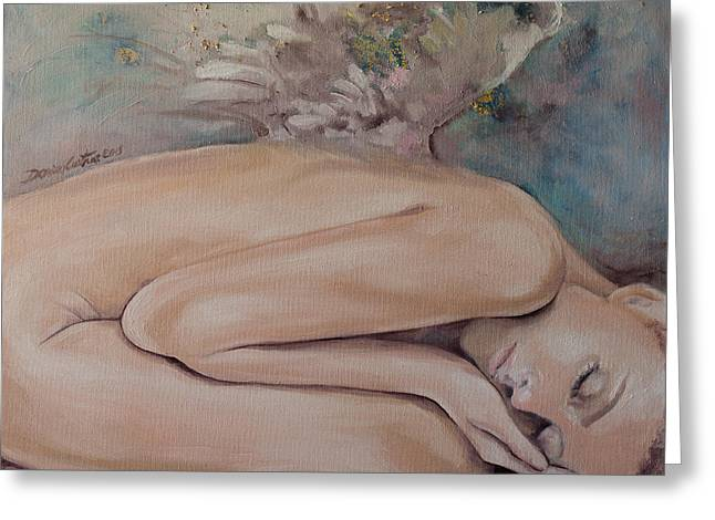 Lullaby Greeting Cards - Lullaby Greeting Card by Dorina  Costras