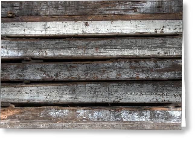 Upcycle Greeting Cards - Lumber Greeting Card by Jane Linders