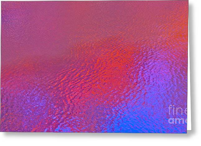 Royal Family Arts Digital Art Greeting Cards - Luminescence Greeting Card by Cindy Lee Longhini