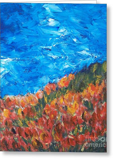 Jane See Art Greeting Cards - Luminosity Greeting Card by Jane  See