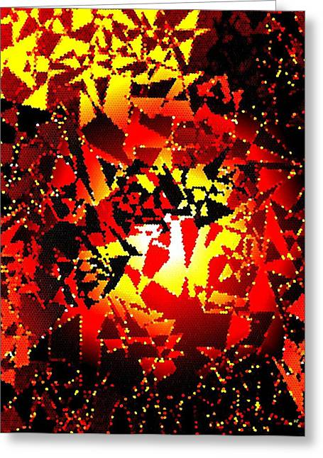 Exhilarate Greeting Cards - Luminous Energy 24 Greeting Card by Will Borden