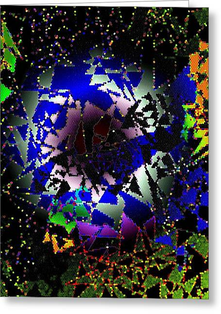 Exhilarate Greeting Cards - Luminous Energy 27 Greeting Card by Will Borden