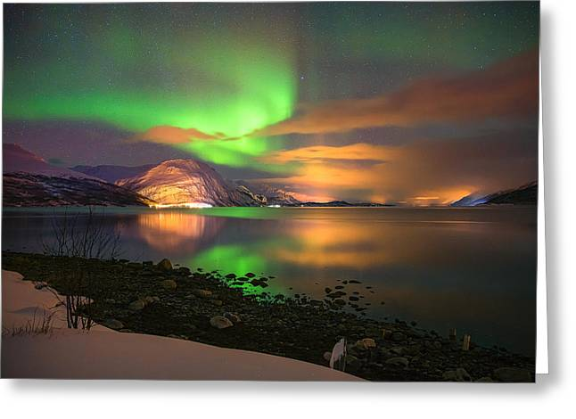 Luminous Landscape Greeting Card by Anders Hanssen