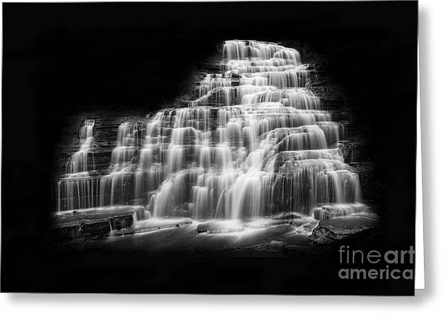 Luminous Waters Vii Greeting Card by Michele Steffey