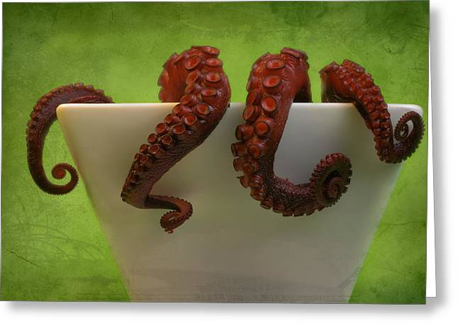 Lunch Greeting Card by Karen Walzer