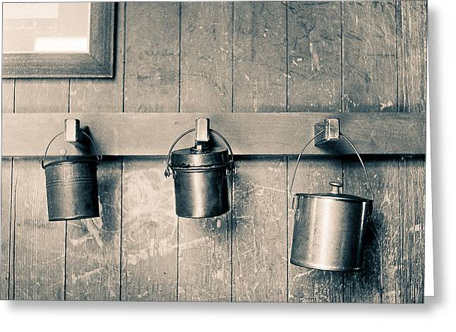 Split Toning Greeting Cards - Lunch Pails Greeting Card by Will Gunadi