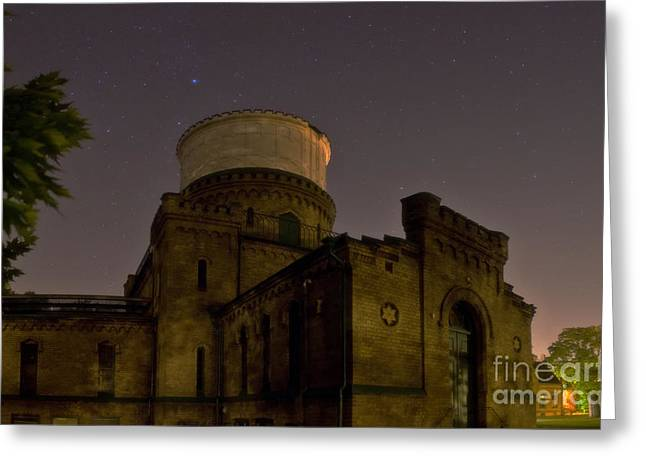 Lund Greeting Cards - Lund Historic Observatory, Sweden Greeting Card by Babak Tafreshi