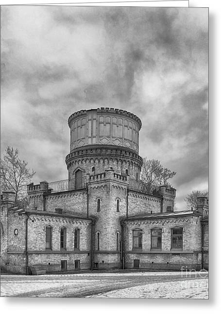 Lund Greeting Cards - Lund Observatory Greeting Card by Antony McAulay