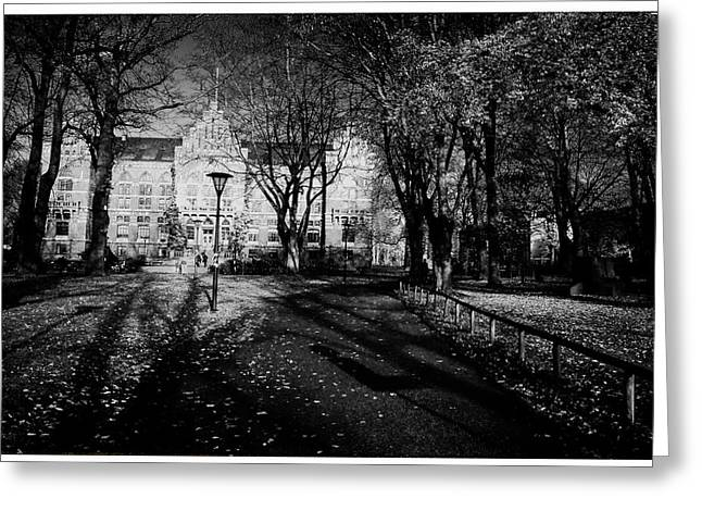 Lund Greeting Cards - Lund University Greeting Card by Nomad Art And  Design