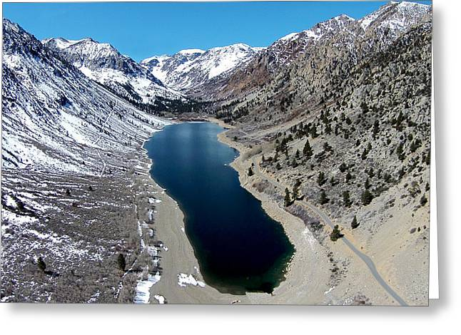 Bridgeport California Greeting Cards - Lundy Lake Greeting Card by David Levy