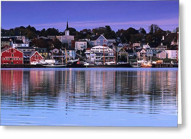 Nova Scotia Photographers Greeting Cards - Lunenburg Nova Scotia Greeting Card by Bob Christopher