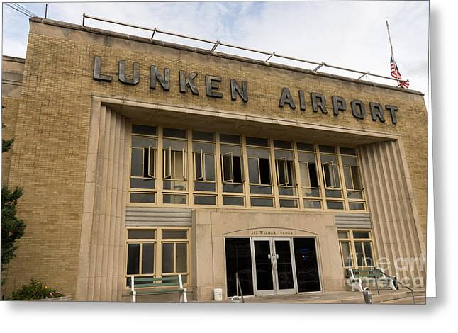Lunken Airport in Cincinnati Ohio Greeting Card by Paul Velgos