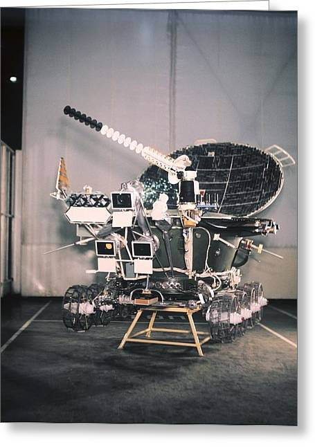 Experiment Greeting Cards - Lunokhod 2 lunar rover Greeting Card by Science Photo Library