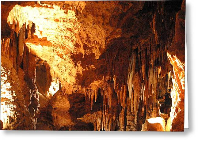 Caves Greeting Cards - Luray Caverns - 1212151 Greeting Card by DC Photographer