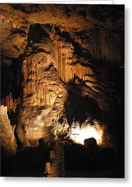 Caves Greeting Cards - Luray Caverns - 121275 Greeting Card by DC Photographer