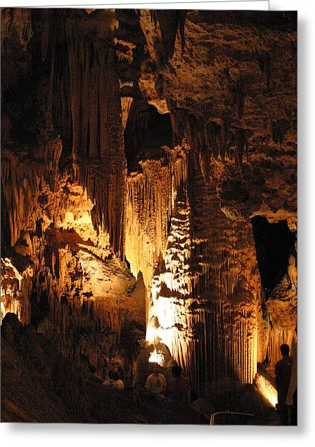 Caves Greeting Cards - Luray Caverns - 121279 Greeting Card by DC Photographer