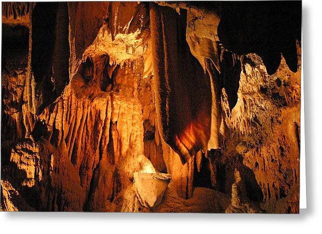 Caves Greeting Cards - Luray Caverns - 121282 Greeting Card by DC Photographer