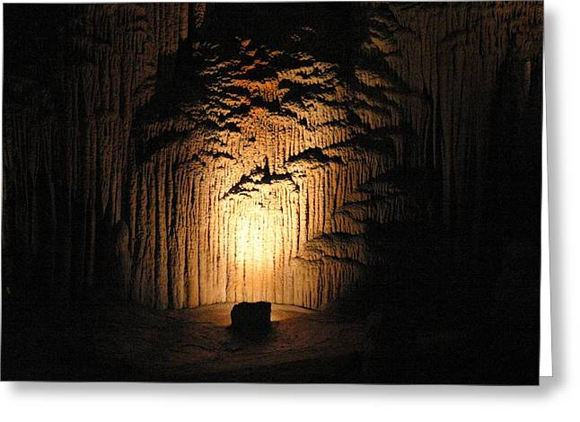 Cave Greeting Cards - Luray Caverns - 121288 Greeting Card by DC Photographer