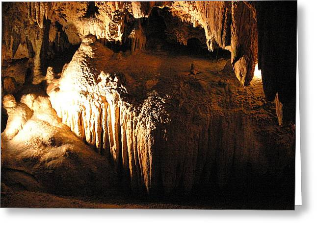 Caves Greeting Cards - Luray Caverns - 12129 Greeting Card by DC Photographer