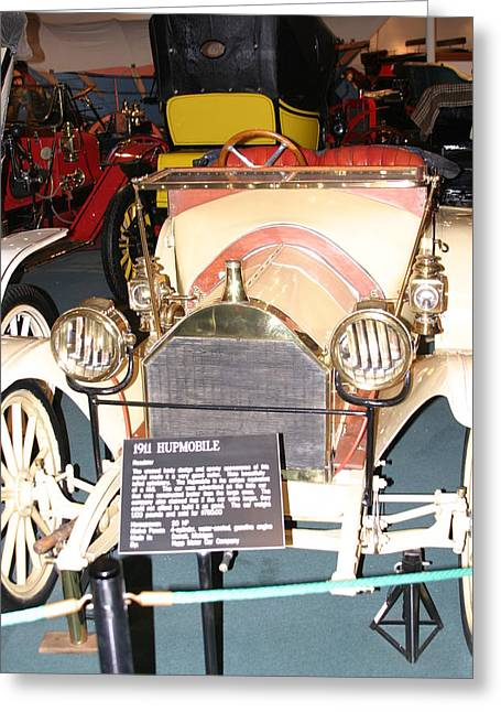 Car Photographs Greeting Cards - Luray Caverns - Car Museum - 12121 Greeting Card by DC Photographer